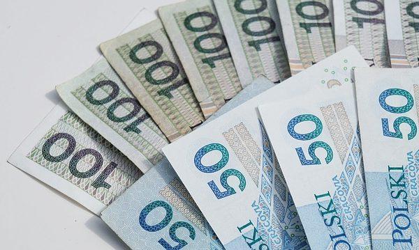 wachlarz banknotów